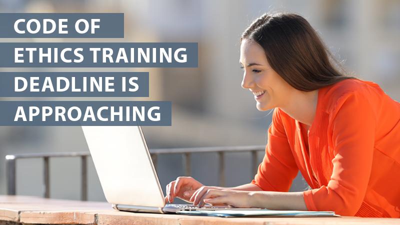 Code of Ethics Training
